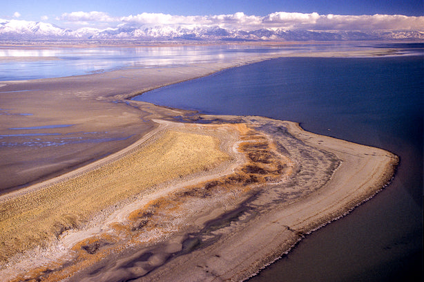 Fremont Island Aerial, Great Salt Lake, Utah - Stephen Trimble Photography, Utah Wilderness 50 Photo Contest
