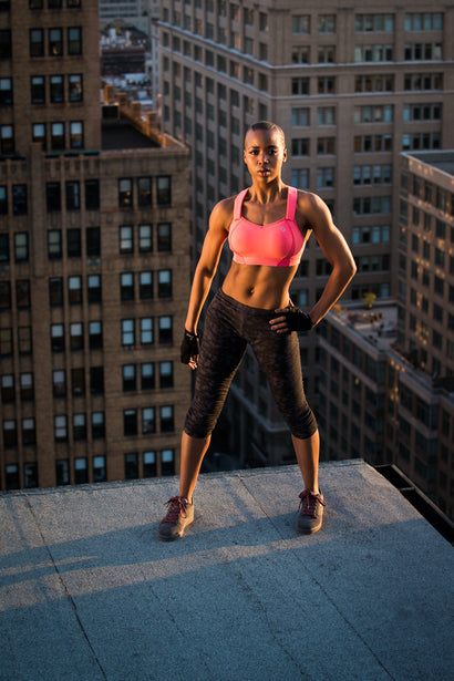 Rooftop Dancer, New York City - Mike Tittel - Sports Photography