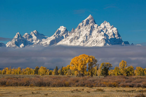 Grand Tetons, Grand Tetons National Park - Secrets of the West.  Photo by James Cawley, shot with a 5DMKIII and 100-400L.