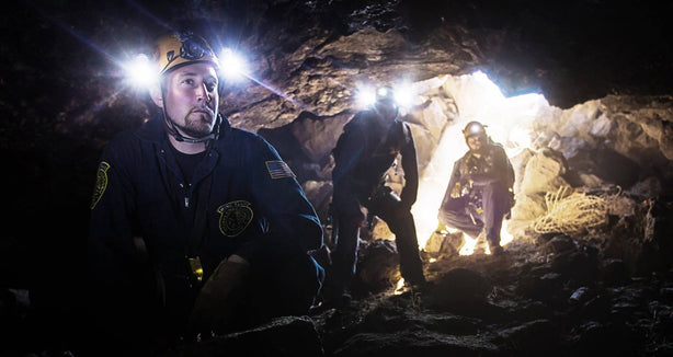 Mohave Underground Team, Fillmore Lava Tubes - Secrets of the West.  Photo by James Cawley, shot with a 5DMKIII and 16-35L.