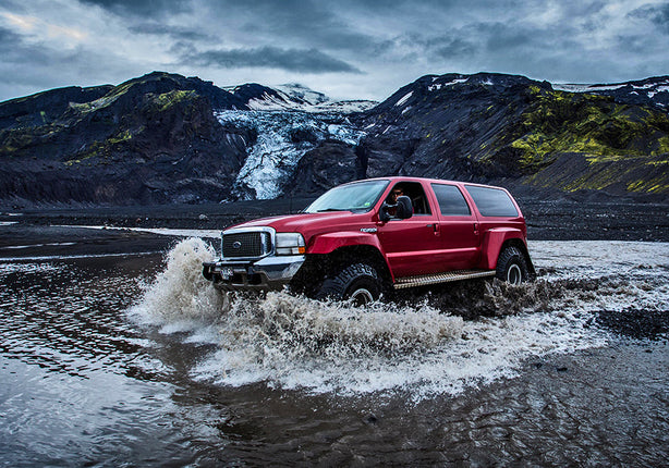 Super Jeeps are Iceland's answer to Mother Nature. They'll get us to places you never imagined existed! - Wesley Johnson, Iceland Photography Workshop