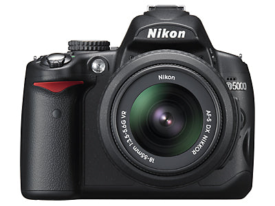 Nikon D5000 Digital SLR Camera Announced