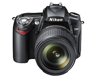 Nikon D90 Digital SLR Camera with movie function