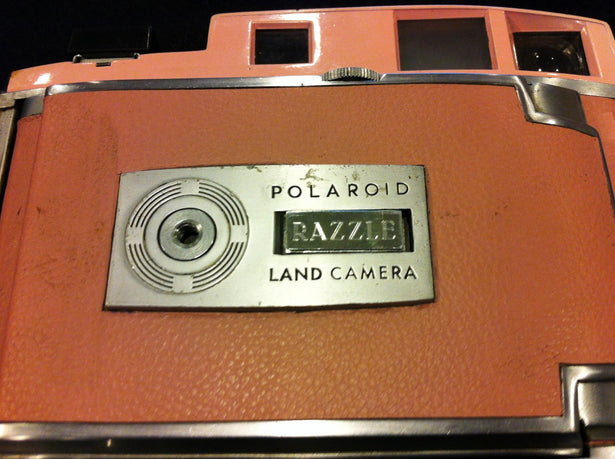 SX-70 Polaroid Camera - The Impossible Project