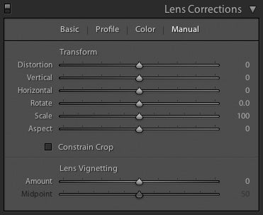 Lens Corrections Panel, Lightroom, Michael Clark