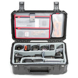 SKB iSeries 2011-7 Case with Think Tank Design Photo Dividers & Lid Organizer (Black)