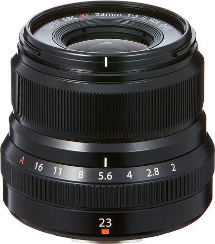 Fujifilm XF 23mm f2 R WR Lens (Black), lenses mirrorless, Fujifilm - Pictureline