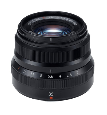 Fujifilm XF 35mm f2 R WR Lens (Black), lenses mirrorless, Fujifilm - Pictureline