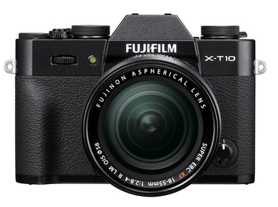 Fujifilm X-T10 Mirrorless Digital Camera with 18-55mm Lens (Black), discontinued, Fujifilm - Pictureline  - 1