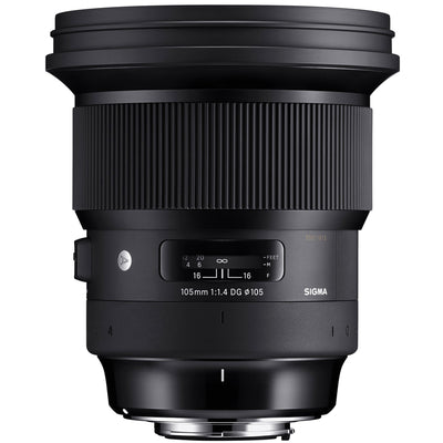 Sigma 105mm f1.4 DG HSM Art Lens for Nikon