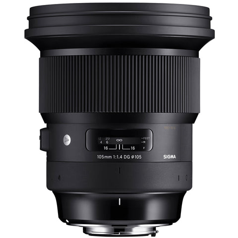 Sigma 105mm f1.4 DG HSM Art Lens for Canon