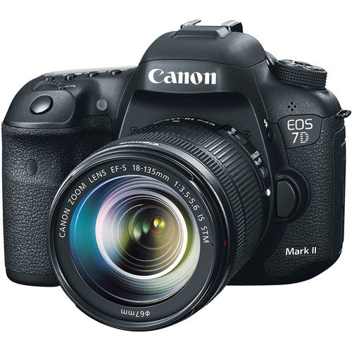 Canon EOS 7D Mark II Kit with 18-135mm STM f/3.5-5.6 Lens, camera dslr cameras, Canon - Pictureline  - 1