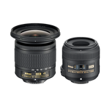 Nikon Landscape & Macro 2 Lens Kit w/10-20mm f/4.5-5.6 and 40mm f/2.8