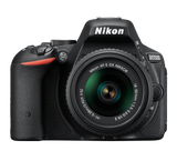 Nikon D5500 DX Digital SLR Camera w/ 18-55mm DX VR II Lens Black, discontinued, Nikon - Pictureline  - 1