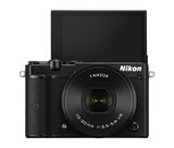 Nikon 1 J5 Digital Camera with 10-30mm Lens Black, camera mirrorless cameras, Nikon - Pictureline  - 5