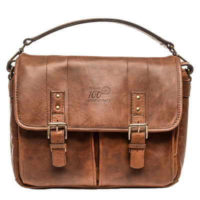Nikon 100th Anniversary ONA Premium Leather Messenger Bag