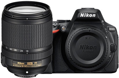 Nikon D5600 DSLR Camera with 18-140mm VR DX Lens, camera dslr cameras, Nikon - Pictureline  - 1
