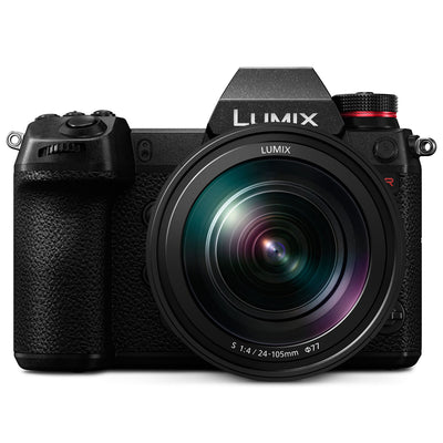 Panasonic Lumix S1R Mirrorless Camera Body with 24-105mm f/4 Lens