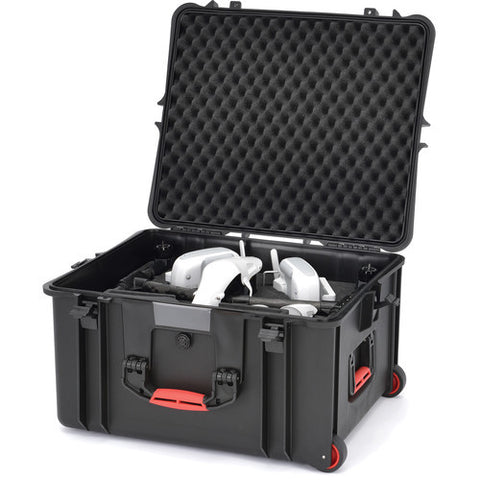 HPRC 2730 WINS Wheeled Hard Case + Foam for DJI Inspire, video drone accessories, HPRC - Pictureline  - 1