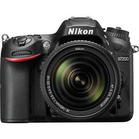 Nikon D7200 DSLR Camera with 18-140mm VR DX Lens, camera dslr cameras, Nikon - Pictureline  - 1