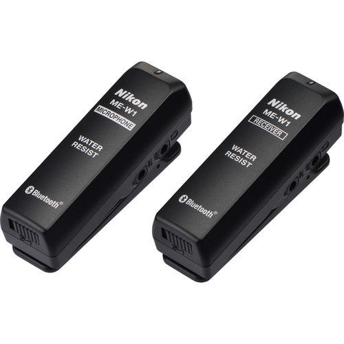Nikon ME-W1 Wireless Microphone, video audio microphones & recorders, Nikon - Pictureline