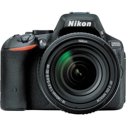Nikon D5500 DX Digital SLR w/ 18-140mm DX f3.5-5.6 VR Lens Black, discontinued, Nikon - Pictureline  - 1