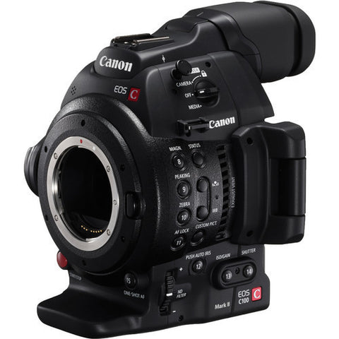 Canon EOS C100 Mark II Cinema Camera (Body Only), video cinema cameras, Canon - Pictureline  - 1