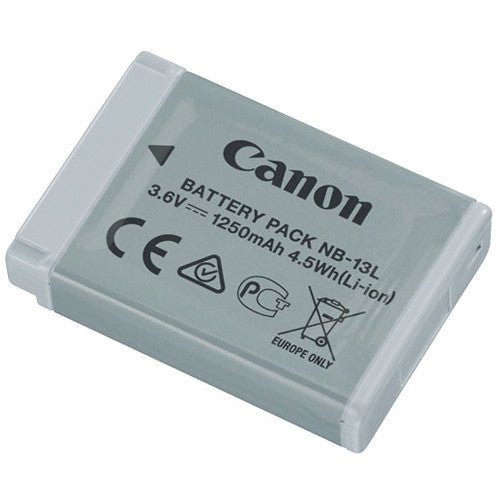 Canon NB-13L Battery Pack (G7x), camera batteries & chargers, Canon - Pictureline