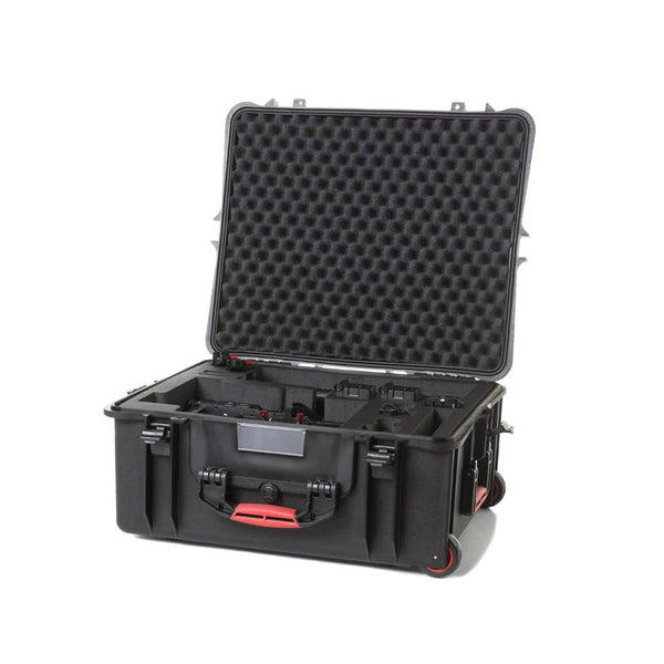 HPRC 2700 WPHA2 Wheeled Hard Case + Foam for DJI Ronin-M, bags hard cases, HPRC - Pictureline  - 1