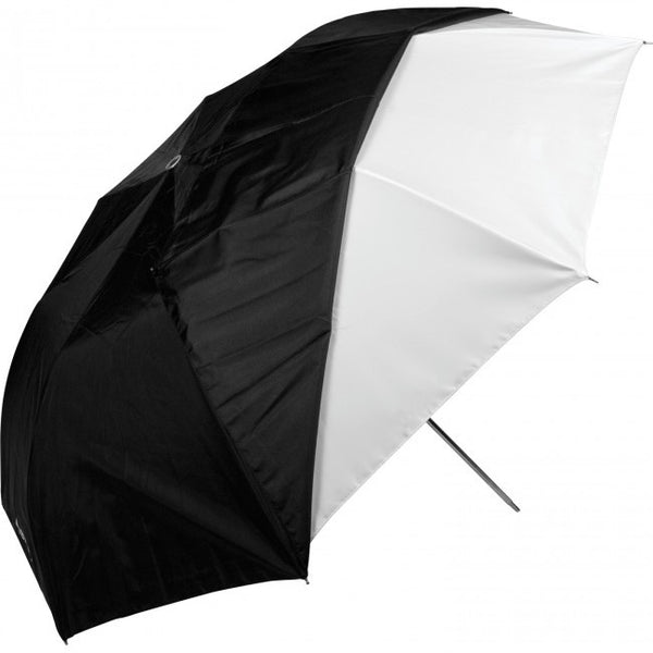 "Westcott 43"""" Optical White Satin with Removable Black Cover-Collapsible, lighting umbrellas, Westcott - Pictureline  - 1"