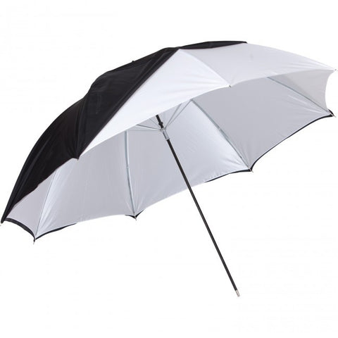 "Westcott 32"" Optical White Satin with Removable Black Cover Umbrella, lighting umbrellas, Westcott - Pictureline  - 1"