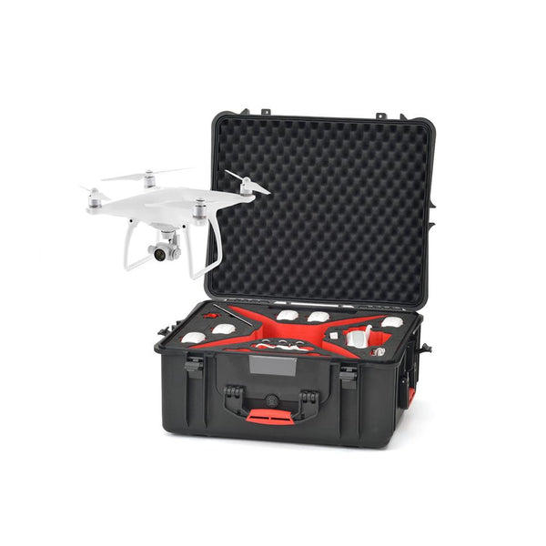 HPRC 2700 WPHA4 Wheeled Hard Case + Foam for DJI Phantom 4, video drone accessories, HPRC - Pictureline  - 1