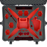 HPRC 2700 WPHA4 Wheeled Hard Case + Foam for DJI Phantom 4, video drone accessories, HPRC - Pictureline  - 2