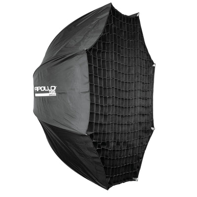 "Westcott 43"" Round Apollo Softbox Orb with 40 Degree Egg Crate Grid"