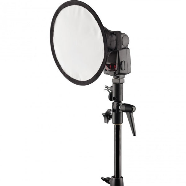 "Westcott Pocket Box Round 8.5"" Speedlite Modifier, lighting diffusers, Westcott - Pictureline  - 1"