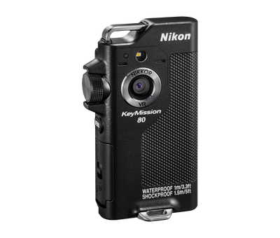 Nikon KeyMission 80 (Black), video action cameras, Nikon - Pictureline  - 1