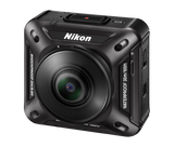 Nikon KeyMission 360 (Black), video action cameras, Nikon - Pictureline  - 2