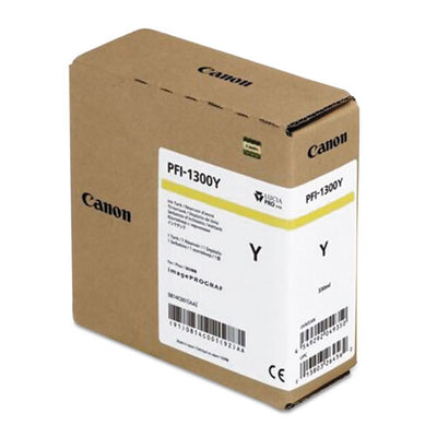 Canon PFI-1300 Yellow Pigment Ink Tank (330ml)