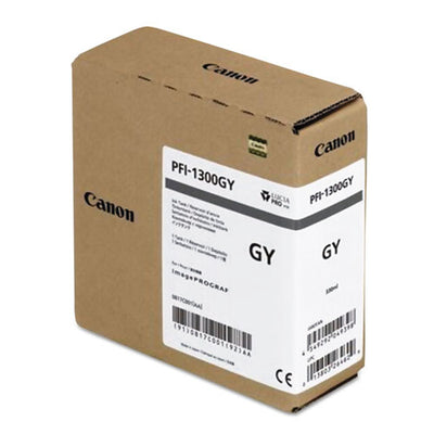 Canon PFI-1300 Gray Pigment Ink Tank (330ml)