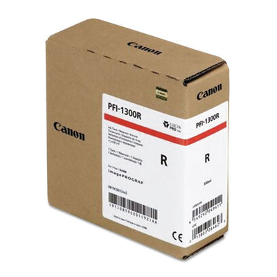 Canon PFI-1300 Red Pigment Ink Tank (330ml)