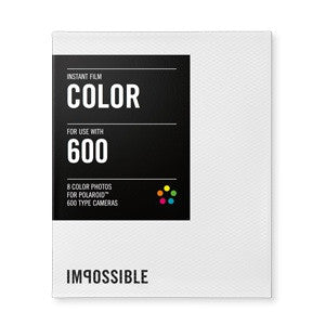 Impossible Color Film for Polaroid 600-TYPE Cameras, camera film, Impossible Films - Pictureline