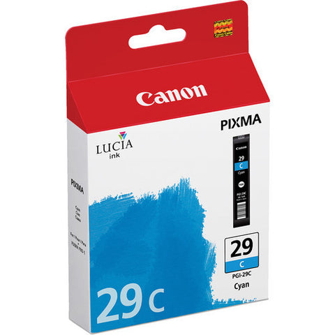 Canon PGI-29 Ink Cyan, printers ink small format, Canon - Pictureline