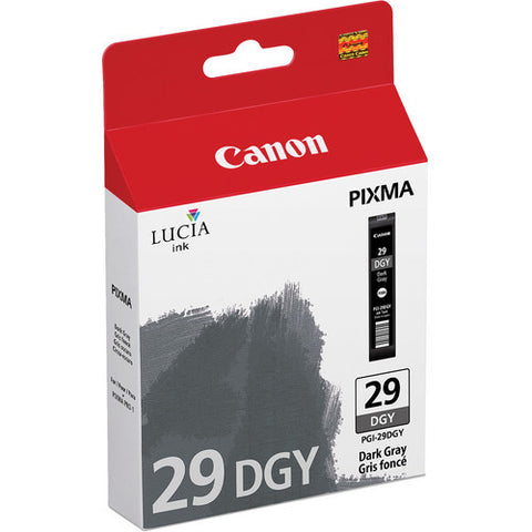 Canon PGI-29 Ink Dark Gray, printers ink small format, Canon - Pictureline