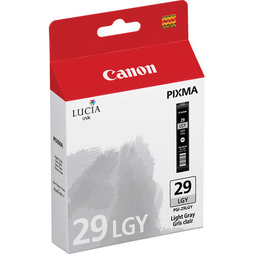 Canon PGI-29 Ink Light Gray, printers ink small format, Canon - Pictureline