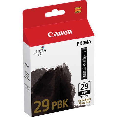 Canon PGI-29 Ink Photo Black, printers ink small format, Canon - Pictureline