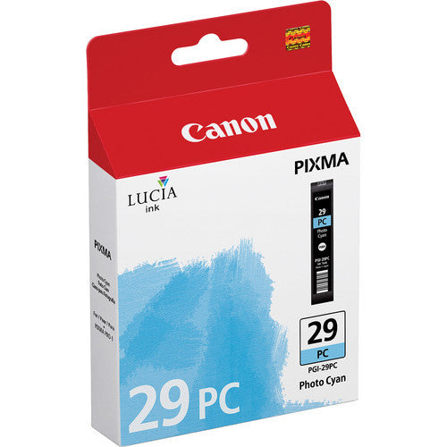 Canon PGI-29 Ink Photo Cyan, printers ink small format, Canon - Pictureline