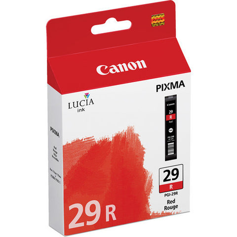 Canon PGI-29 Ink Red, printers ink small format, Canon - Pictureline
