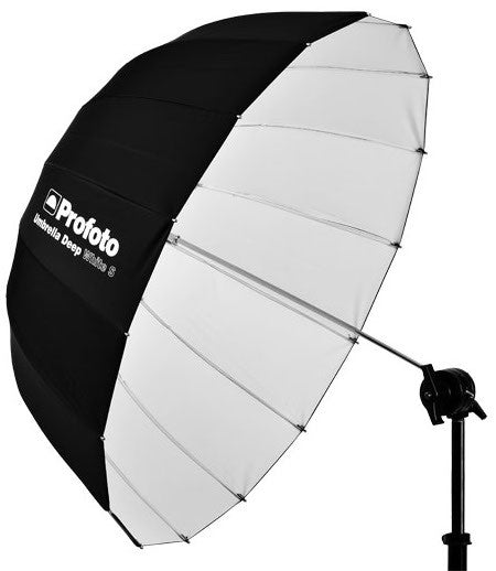 "Profoto Umbrella Deep White S (33""), lighting umbrellas, Profoto - Pictureline  - 1"