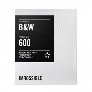 Impossible B&W Film for Polaroid 600-TYPE Cameras, camera film, Impossible Films - Pictureline