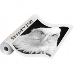 "Sihl 3160 USA Spirit Clear Film 5 Mil 17""x100', papers roll paper, Sihl - Pictureline"